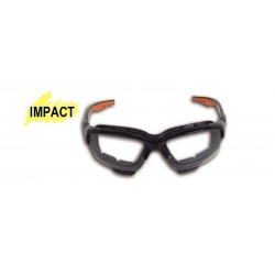 "Occhiali ""impact"" Lenti Clear Bc"