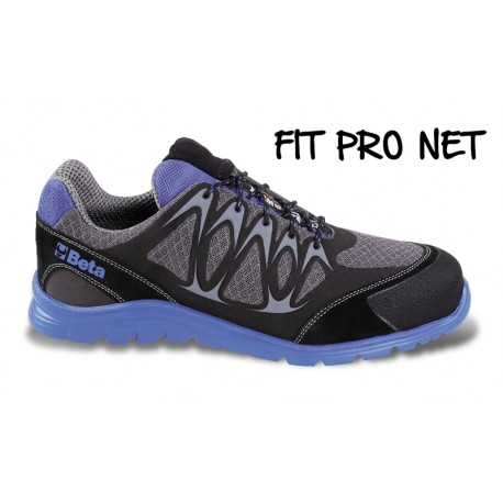 Scarpe Basse Fit-pro Net S1p Blu 42
