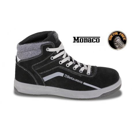 Scarpe Urban Monaco Alte Pelle Black S3 Un 41