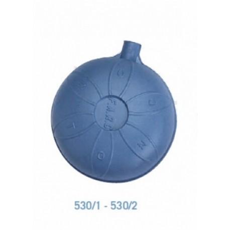 SFERA PLASTICA D 90 CON NOTTOLINO OTTONE