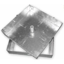 Sigillo Zincato Cm 43x43 Sp 10/10