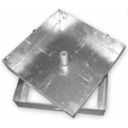 Sigillo Zincato Cm 53x53 Sp 10/10