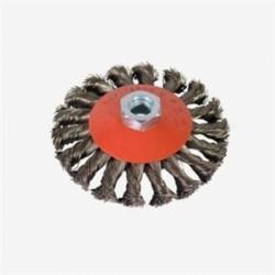 Spazzola Circolare Conica D 100 Con Foro M 14
