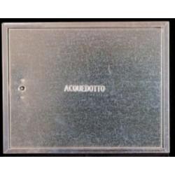 Sportello Cont.acqua H50x60lx2 Zinc.