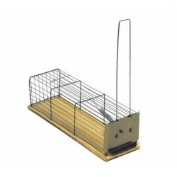 Trappola Topi A Gabbietta V.& S. Misure Cm. Lun.25 X Larg. 8,5 Gr.125