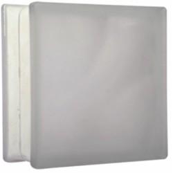 Vetrocamera Bianco Satinato 19x19x8