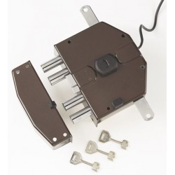 Serratura Di Sicurezza Elettrica Segreta