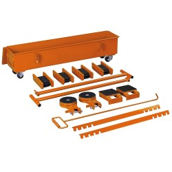 Uni6195020 - Kit Pattini A Rulli Modello Tr 20 - P
