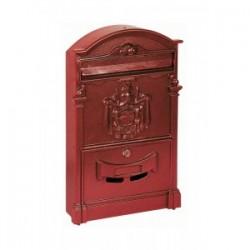 Cassetta Per Lettere Regia Rossa 41x8 3x25 5