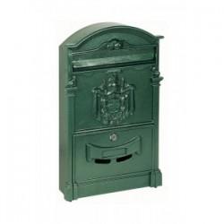 Cassetta Postale Regia Verde H41x8 3x25 5