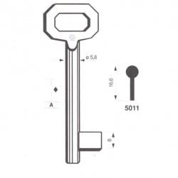 Chiave Patent Silca 5011 Passepartu