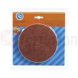 Dischi Carta Abrasiva Pg 125 Mm Gr 120