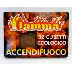 Accendifuoco Eco 32pz Fiamma