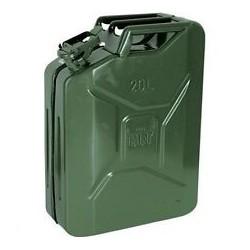 Tanica Per Benzina E Gasolio Lt 20 Metallo Verde