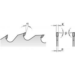 Lama X Taglio Di Precisione Hw 160x2.2-1.6x20 Z48