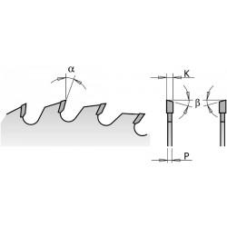 Lama X Lungo-traverso Vena Hw 180x2.6-1.6x20 Z24 A
