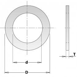 Anello Riduzione Foro Lama 30-25x2mm