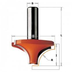 Fresa Raggio Concavo Hm S-6 D-19 R-4