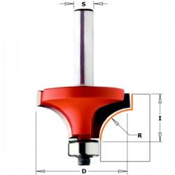 Fresa R.concavo Con Cuscinetto Hw S-6 D-28.7 R-8 D