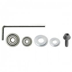 5 Boccole Alluminio D-14.3_20.6_26.9_32.5_38.9 X 8