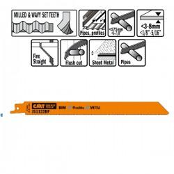 5 LAME SEGHETTO X METAL BIM 225X1.8X14TPI SIDESET-