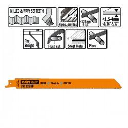 5 Lame Seghetto X Metal Bim 225x1.4x18tpi Sideset-