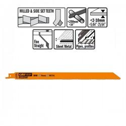 Lame Seghetto X Metal Bim 300x1.8-2.6x10-14tpi S