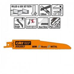 5 Lame Seghetto X Metal Bim 150x2.9x9tpi Sideset-m