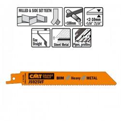 5 Lame Seghetto X Metal Bim 150x1.8-2.6x10-14tpi S