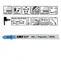5 Blades Hacksaw X Metal Hss 100x1.2-2.6x21-10tpidi