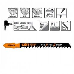 100 Blades Hacksaw X Wood Hcs 100x4-5.2x6tpi Inc