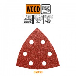 10 Sheets Delta X Sanding-polishing-Wood-93mm G