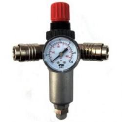 Pressure Reducer, 3/8 Pressure Gauge, 40 Mm
