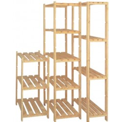 The shelf In the Fir Elba Cm 80x40x170 5 Shelves