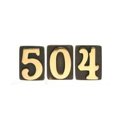 """Numero Lux """"5"""" H.78x60 Ant/olv"""