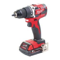 TRAPANO COMPATTO 18 VOLT 2,0AH COMPACT BRUSHLESS