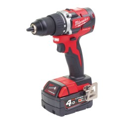 TRAPANO COMPATTO 18 VOLT 4,0AH COMPACT BRUSHLESS