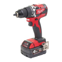 TRAPANO BATTENTE 18 VOLT 4,0AH COMPACT BRUSHLESS