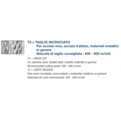 Fresa Metallo Duro Raggio Mm 12x25