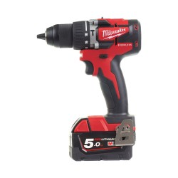 Trapano battente 18 Volt 5,0Ah Compact Brushless