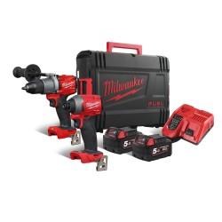 SET AVVITATORE IMPULSI + TRAPANO FUEL M18