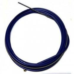 GUAINA ISOLANTE PER TORCIA MM 0.6-0.9 BLUE MT 4