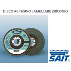 DISCO LAMELLARE ALLO ZIRCONIO SAIT 115X22.23 Z 60