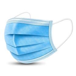 Mascherina Alta Protezione Monouso Azzurro 3 Str
