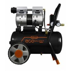 Compressore Silenziato Lt.24 Hp.1 Vinco 8 Bar 59 Db 230v/50hz