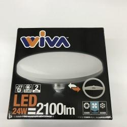 LAMPADA LED DISCO 24W 6000K FREDDA