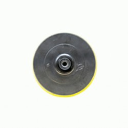Platorello Nylon D.125 Con Velcro Attacco Filettato M14