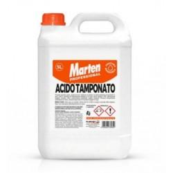 Acido Tamponato 15% Kg.5 Profumato Pulitore Per Gres-cotto-ceramiche