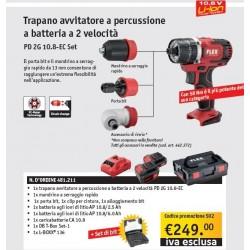 Pd 2g 10.8-ec Trapano Avvitatore Set 30/11/2020