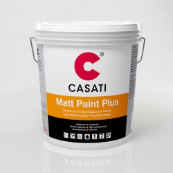 Pittura A Tempera Per Interno All'acqua Bianco Matt Paint Plus